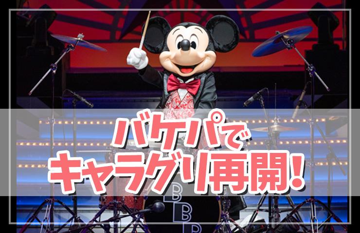 【ファン歓喜!?】TDR バケーションパッケージでキャラクターグリーティング再開!!