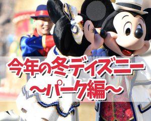 【2020年冬】コロナ禍でも東京ディズニーリゾートへ遊び…