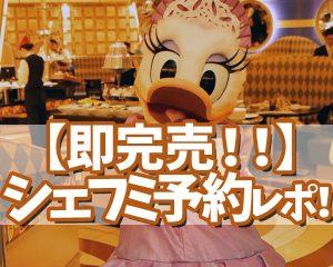 【即完売!!】クリスマスシェフミ予約!11/24のディズ…
