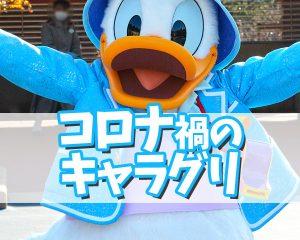 東京ディズニーシー・プラザのキャラクターグリーティング♪